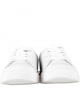 White sneakers for kid