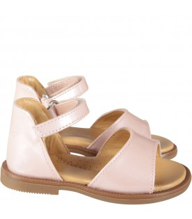 Pink girl sandals