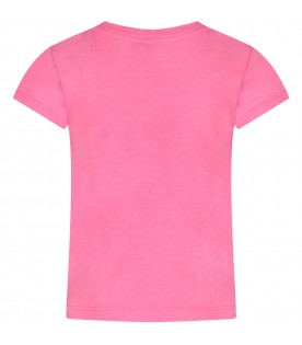 Pink girl T-shirt with iconic Teddy Bear