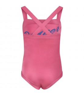 "Fuchsia body ""Dancer"" for girl"