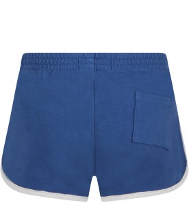 Blue shorts for kids