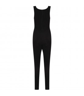 Black jumpsuit for girl