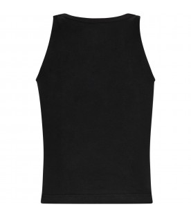 Black girl tank top with logo