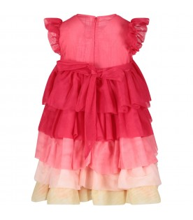 Multicolor girl dress