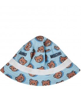 Light blue babyboy sun hat