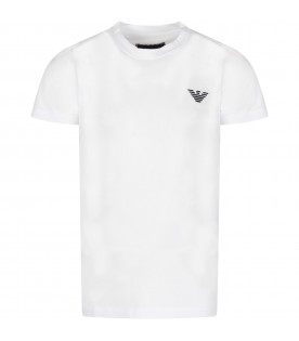 White boy t-shirt with iconic eagle