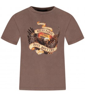 Mud boy T-shirt with colorful print