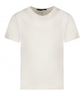 Ivory boy T-shirt with circles