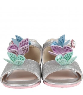 Silver ''Riva Sandal Infant'' sandals