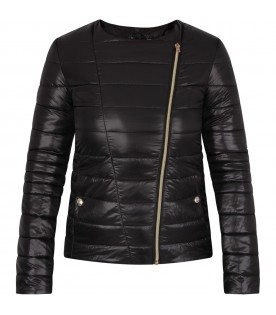 Black girl jacket with plate