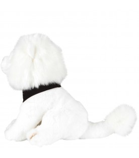White babykids peluche with logo