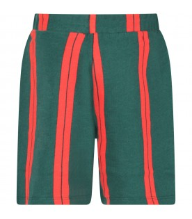 Green and red boy short