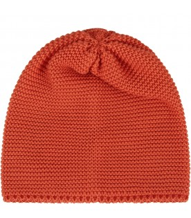 Orange babykids hat