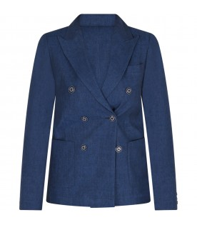 Blue boy jacket