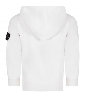 White boy sweatshirt with iconic patch