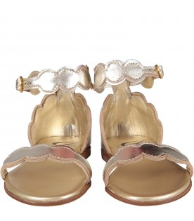 Platinum  girl sandals