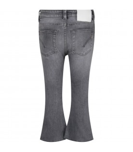 Grey ''Amanda'' jeans with iconic D