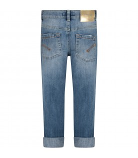 Denim ''Surie'' girl jeans with iconic D