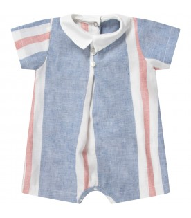 Color block babyboy rompers