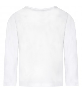 White kids T-shirt