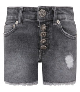 Grey ''Klum goiello'' girl short with iconic D