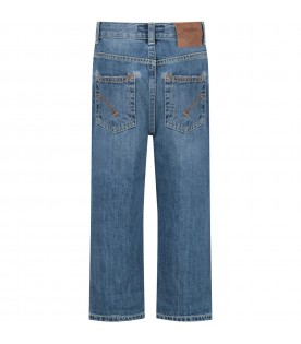 Azure ''Skater'' boy jeans with iconic D