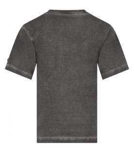 Grey boy T-shirt