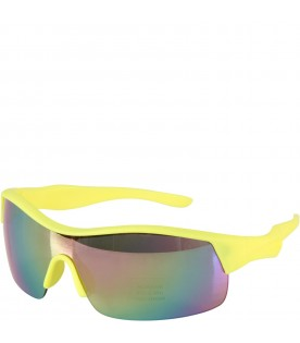 Neon yellow boy sunglasses