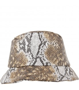 Brown sun hat for kids