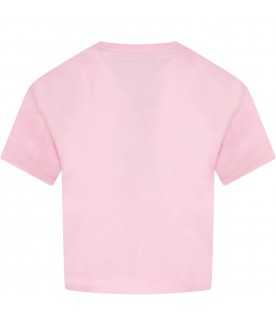 Pink girl T-shirt with Sylvester and Tweety