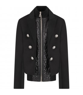 Black girl jacket