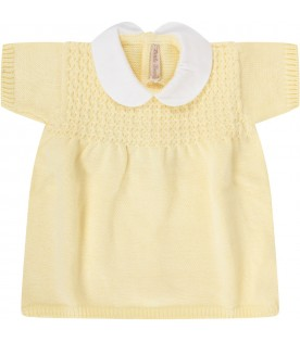 Yellow babygirl dress