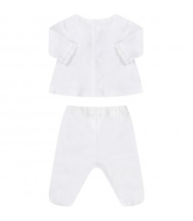 White babygirl suit