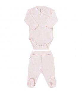 Pink babygirl suit
