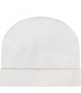 White babykids hat