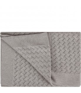 Grey babykids blanket