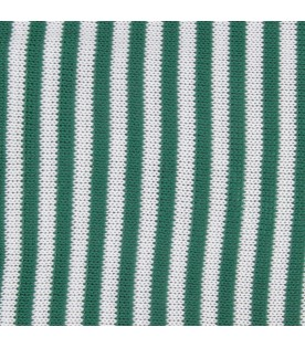 Green and white babykids blanket