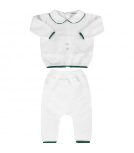White babykids suit with iconic bear