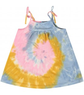Colorful dress for baby girl