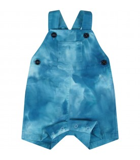 Turquoise overall for baby boy