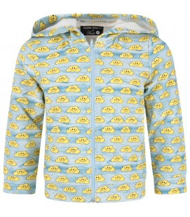 "Blue ""Ghayme"" sweatshirt for kids"