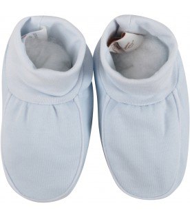 Light blue babyboy baby bootee