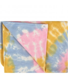 Colorful blanket for baby