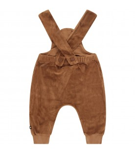Brown babykids overalls