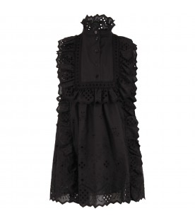 Black girl dress with hearts