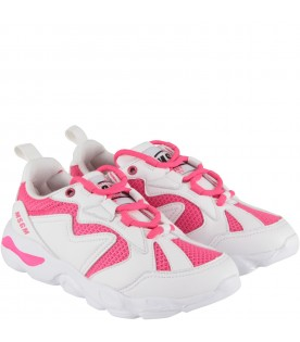 Bicolor sneakers for kids