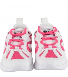 Bicolor sneakers for girl
