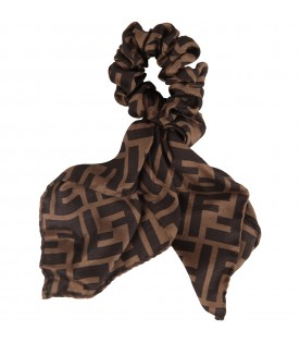 Brown hairband for girl