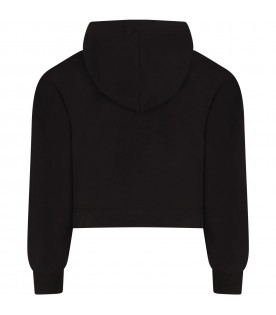 Black girl sweatshirt with logo