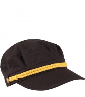 Black hat for girl with logo